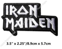 Vêtements de tueurs Prix-IRON MAIDEN PATCHES EDDIE DÉBUT ANS KILLERS LIVRE DE SOULIES BIKER ROCK PUNK DIY Badge brodé costume rockabilly
