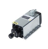 12v motorfahrer großhandel-Top hohe qualität ER20 8.8A 300 HZ 3.5kw luftgekühlten cnc router spindelmotor 18000 rpm