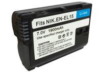 Wholesale Battery En El15 - time-limited car equalizer en-el15 digital batteries enel15 battery pack for nikon d600 d800 d800e d7000 d7100 v1 mh-25 camera