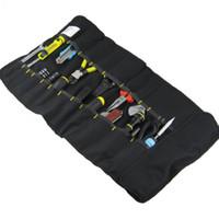 nylonrolle großhandel-Qualität Waren Werkzeugtasche Reel Type Pouch FASITE Satteltasche Portable Tools Sleeve Kostenloser Versand Einfach zu Tragen Durable Faltbare 23xd H R