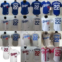 Wholesale 2017 Men women Youth Toddler Independence Mother Los Angeles Dodgers Clayton Kershaw Blue White Grey Pink Coolbase Flexbase baseball Jerseys