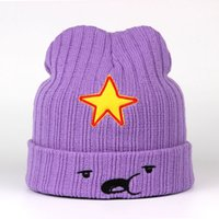 Wholesale Tied Models - 2018 NEW Winter Hats For Women Men Modno Star Fashion Lovely Cute Hat model Lumpy Space Princess hat Female Skullies Beanies