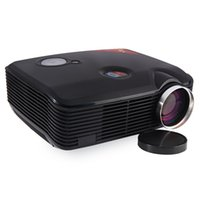 Wholesale lcd contrast resale online - New Design LED Projector STA ProHome PH5 LED Projector Eink Inch LCD Contrast Lumens Projector With HDMI USB Inputs