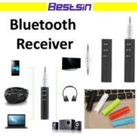 Wholesale play cars free - BT-301 Mini Bluetooth Receiver Car AUX Audio Wireless Receiver Adapter Hands-free Calling and Wireless Music Playing 3.5mm AUX