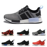 Wholesale Summer Cut Out Boots - 2017 Cheap Wholesale New NMD R1 Runner PK Primeknit PK Boots Men Women Sports Outdoors boost men Athletic Running shoes sneaker Shoes sports