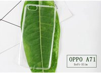 Transparent Ultra fin 0,4 mm TPU Clear Crystal Case Skin Cover Protector pour OPPO A71