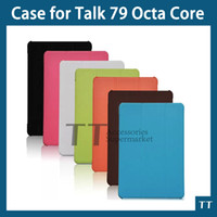 Wholesale Screen Protector Cube - Wholesale-For Cube TALK 79 case,Ultra-thin protective leather case for Cube TALK79 U55GT Octa Core + free screen protector
