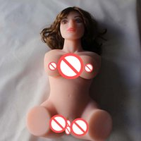 Wholesale Hot Sexy Silicone Love Dolls - Hot 3D Realistic Love Full Silicone Sexy Doll with Long Wig,Oral,Breast,Vaginal and Anal Sex, Sex Doll for Man, Sex Products
