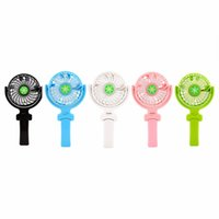 Wholesale Handy China - Handy Usb Fan Foldable Handle Mini Charging Electric Fans Snowflake Handheld Portable For Home Office Gifts