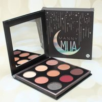 Wholesale sell eye shadow palettes for sale - Group buy Hot Selling item Manny MUA colours eye shadow palette good quality longl lasting waterproof eye shadow palette