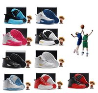 Wholesale Lace Shoes For Babys - tyle Online Sale Cheap New Air Retro 12 Kids basketball shoes for Boys Girls sneakers Children Babys 12s running shoe Size 11C-3Y