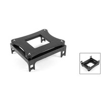 Wholesale amd cpu sockets - Wholesale- YOC 5psc lot Black Plastic CPU Fan Mounting Bracket Base For Socket 478