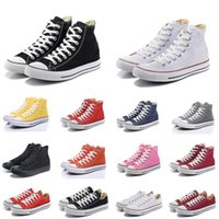 Wholesale Free Skateboard Shoes - High quality 2017 Men Women Shoes Conversed flat sports canvas skateboard Casual Shoes online wholesale sales EUR size 35-44 Free Shipping