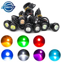 Wholesale 12v Running Led - auto Eagle Eye DRL LED Lamp 18MM 2W 5630 Daytime Running Light Waterproof car Taillights light LED Fog bulb Car work Light