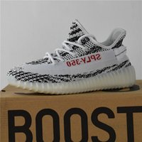 Wholesale Cheap Discount Running Shoes - Zebra Boost 350 Boost V2 Zebra Releases Wholesale Cheap Running Shoes Sneakers Sply Boost 350 V2 Kanye West Discount Cheap With Box