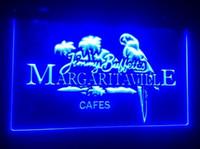 signos margaritaville al por mayor-b-246 Jimmy Buffett Margaritaville 2 cervecerías tamaño pub bar club letreros 3d LED Signo de luz de neón