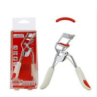 Wholesale Eyelash Curler Replace - LAMEILA The United States Yo ML502 Wide Angle Integral Stainless Steel Eyelash Curler Anti-Skid Handle Replace Pads