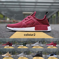 Wholesale Cheap Adult Shoes - BEST NMD XR1 Glitch Black White Blue Camo Olive Adult And Kids Children Running Shoes sports sneaker cheap online for sale