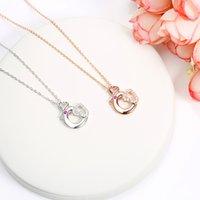 Wholesale Silver Ingot Pendant - S925 Silver Jewelry Pendant Zodiac Necklace Silver love diamond Ingots Pendant Sterling Decorative Animal pendant free shipping A742
