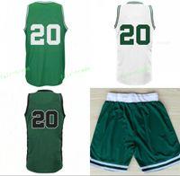 Wholesale New Jersey Drop Ship - 2017 New 20 Gordon Hayward Basketball Jerseys Sports Men Hayward Jersey Team Green Alternate White Color Breathable Drop Free Shipping