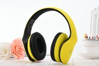 Wholesale over ear headphones yellow - JKR-102 DJ Earphone Headphone Headset Over Ear Noise Cancelling Folding Headphone with Mic For Cell Phone Computer MP3 MP4