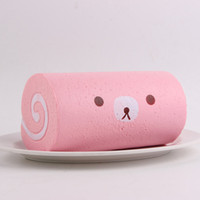 Wholesale Mood Rings Colors - New 3 Colors Swiss Roll Soft Toys Against Humanity Bad Mood Anti stress Ball Anti Stress Hand Lepin Wrestling Key Ring
