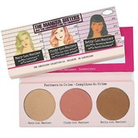 Wholesale Mary Cosmetics - Wholesale-1PCS Brand Makeup THE MANIZER SISTERS Highlighter MARY-LOU   BETTY-LOU   CINDY-LOU BRONZING THE LUMINIZERS Cosmetics