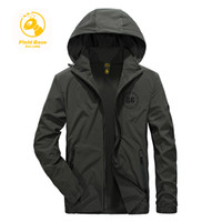 Wholesale Military Jacket Hood Mens - brand men's clothing Military mens Jacket with hood Army Camouflage Parkas Coat polyester coats solid for Spring & Summer Newest