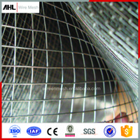 Wholesale 1 G ft Stainless Steel Galvanized Welded Wire Mesh Plain Weave Mesh For Constrution