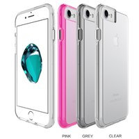 Custodia di design unica per iPhone X Fashion Bright Crystal Clear Cover per iPhone 7 8 TPU + PC per iPhone 6 Plus Shell