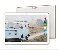 Wholesale Tablet Android 4g Gps 16gb - 10 inch Android 4.4 Quad Core MTK6582 3G Phone call 1GB RAM 16GB ROM Dual SIM Card Bluetooth GPS IPS Tablets
