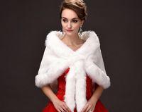 Wholesale Winter Leather Coats For Sale - Free Shipping Winter Wedding Wraps Bridal Jackets Fax Fur Cape For Wedding Elegant Hot Sales Bridal Coat Chaqueta Novia Veste Mariage