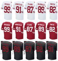 Wholesale Mcdonald S - custom San Francisco Men Women Youth Jersey 49er #99 DeForest Buckner 91 Arik Armstead 87 Dwight Clark 89 Vance McDonald 82 Smith Jerseys