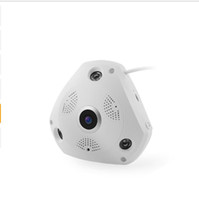Wholesale Wide Angle Security Camera Night - J450WD 5MP Panoramic Camera wireless home security camera systems Ultra HD night vision camera 360 Wide Angle FishEye android AT