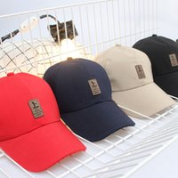 Wholesale Wholesale Strapbacks Caps - Designer Cotton Adjustable Strapbacks Golf Caps Mens Womens Sports Curved Sun Hats Fishing Cap Basketball Fottball Caps Trucker Cap