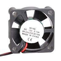 Wholesale Mini Fan Heatsink - Wholesale- NI5L 3010S 12V Cooler Brushless DC Fan 30x10mm Mini Cooling Radiator Free Shipping