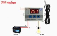 Wholesale Temperature Switches Thermostats - Wholesale-Digital LED Temperature Controller 10A Thermostat Control Switch Probe sensor