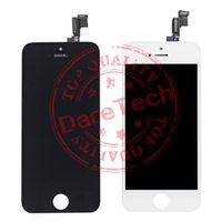 Wholesale Lcd Screen For 5s - Grade A +++LCD Display Touch Screen Digitizer Full Assembly for iPhone 5S 6 Replacement Repair Parts & free shipping