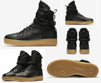 Wholesale Force Lights - Drop Shipping Famous Special Forces Force Racers 1 One Boots Black Gum Light Brown 859202 009 Mens Womens Sport Athletic Trainers size 36-45