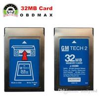 Wholesale gm card tech2 opel - Newly GM Tech2 Card With 6 Software 32MB Card FOR GM TECH2,Holden Opel GM  SAAB ISUZU Suzuki 3