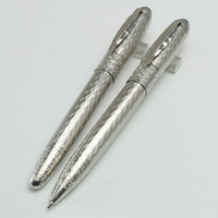 Wholesale Metal Maple Leaf - Luxury mb pen Writers Edition Daniel roller ball pen office&school supplies ballpoint pen with maple leaf Clip for writing