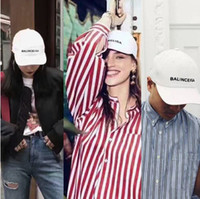 Wholesale Babygirl Cap - 2017 fashion hip hop babygirl cap Balun cap black & white 100% genuine ultra rare sold out everywhere ANNOYED goodie hat bone gorras