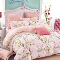 Wholesale New Quilt Arrivals - Bedding Sets Four Pieces of Cotton Quilt Cover  Bedsheet Pillowcase 2017 New Arrivals Fresh hundreds of Pattern Warm of the four seasens