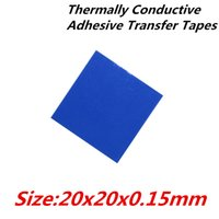 Wholesale x20mm Thermally Conductive Adhesive Transfer Tapes thermal pad double sided tape for heatsink radiator