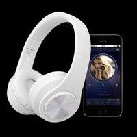 Wholesale Tf Card Bluetooth Headset - B3 Bluetooth Headphones Wireless HiFi Stereo Headset Headphone Headfone With Mic Support TF Card FM Radio For Smartphone PC With Retail Box