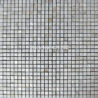Wholesale Pearl Tile Backsplash - Mother of pearl tile thickening square white kitchen backsplash mosaic shell bathtub tile; bathroom wall flooring covering tile