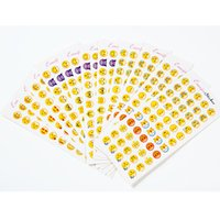 Wholesale Glass Items Wholesale - New Arrival 12 Pcs 660 Emoji Pattern Dome Glass Refrigerator Magnets Cartoon Expression Glass Cabochon Magnetic Stickers Christmas Gift Item