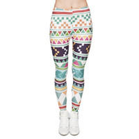 Wholesale Women s D Leggings New Graphic Full Print Girl Skinny Stretchy Pants Tight fitting Elastic Slim Sprots Fitness Pencil Trousers DDK5 FH