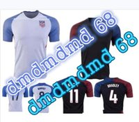 Wholesale Denim Shirt Rivets - 2016 2017Top Thai quality USA Jerseys United States Shirt DEMPSEY DONOVAN BRADLEY ALTIDORE 2017 America Cup H