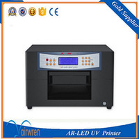 Wholesale Commercial Color Printers - best selling quality guarantee AR-uv led mini6 printer digital flatbed plastic card embossing machine for sale